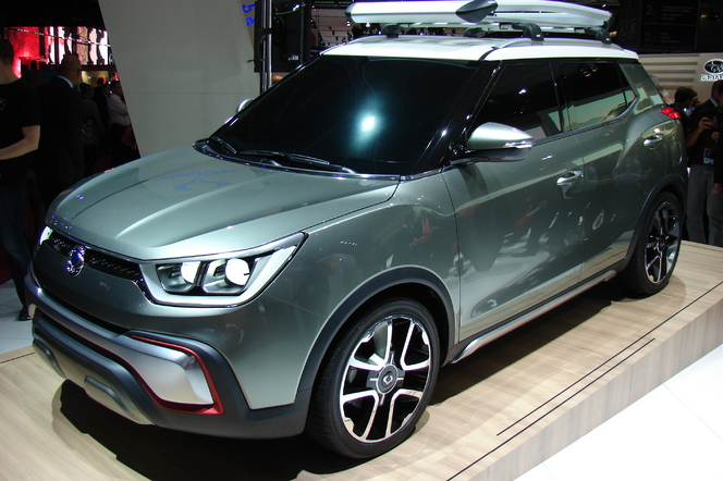 SsangYong XIV-Adventure: le futur X100 c'est lui - En direct du Salon de Paris 2014