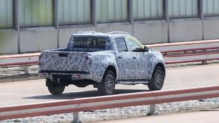 Le pickup Mercedes surpris en séance d'essai