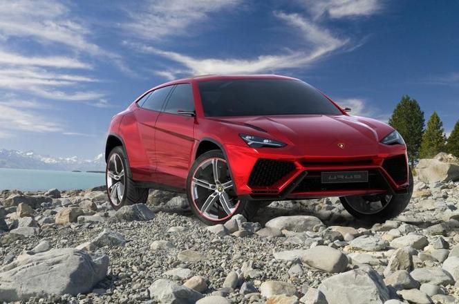 Pékin 2012 : Lamborghini Urus Concept en avance