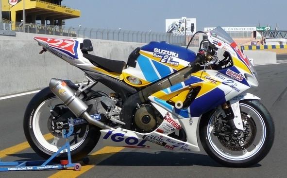 Le TRT 27 en route pour le Mans
