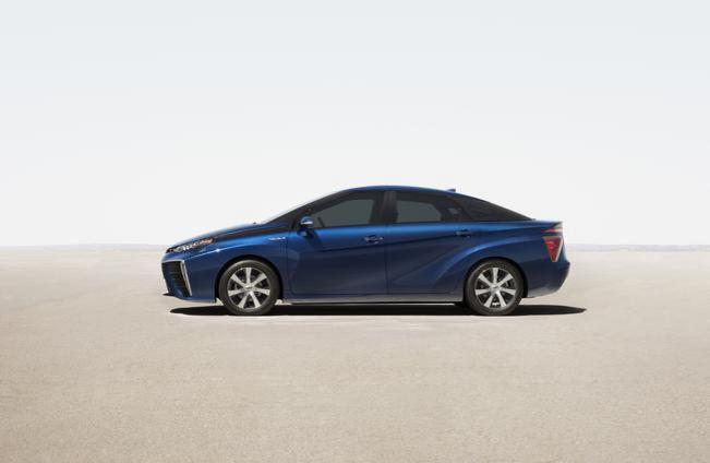Mondial 2014 - Toyota berline pile à combustible : les premières infos