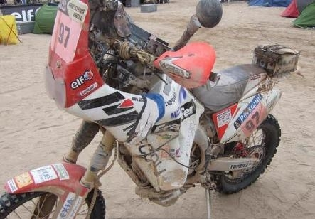 Dakar 2010 :  Alain Delaunay, 86ème, mais toujours là