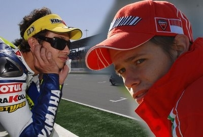 Moto GP: France: Rossi vs Stoner: C'est reparti !