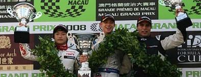 GP de Macao F3: des victoires de Mortara et Kunimoto