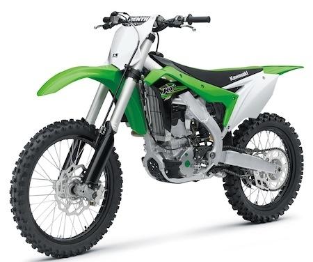 Nouveauté 2017: Kawasaki KX250F