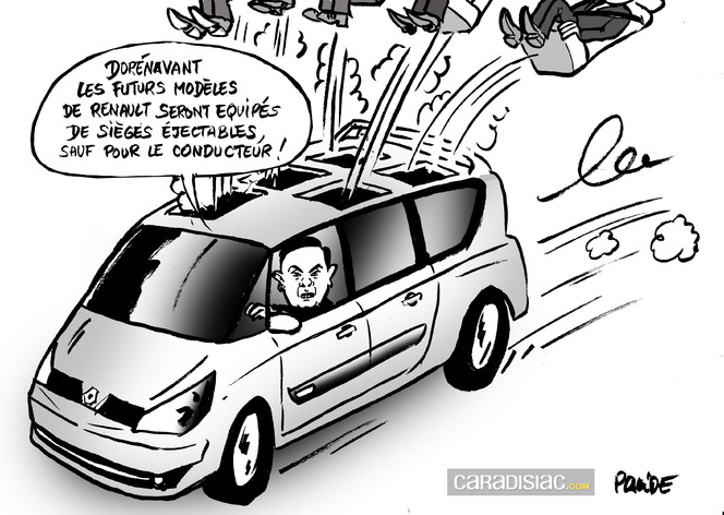 Espionnage : du ménage à la tête de Renault ?