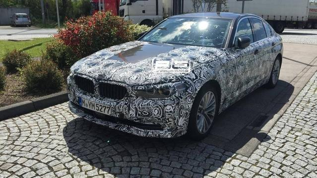 Scoop : la future BMW Série 5 prend la lumière
