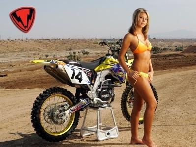 Moto & Sexy : belle prise de vue.