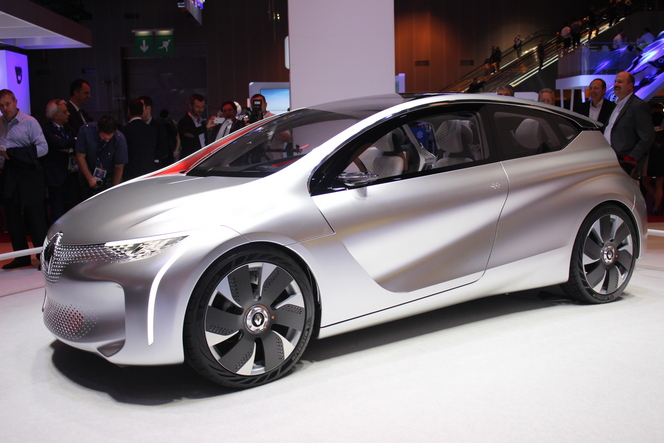 Renault Eolab Concept : conso record - En direct du salon de Paris 2014