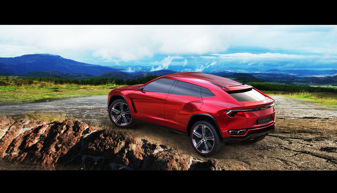 Pékin 2012 : Lamborghini Urus officiel, 600 ch d'origine indéterminée