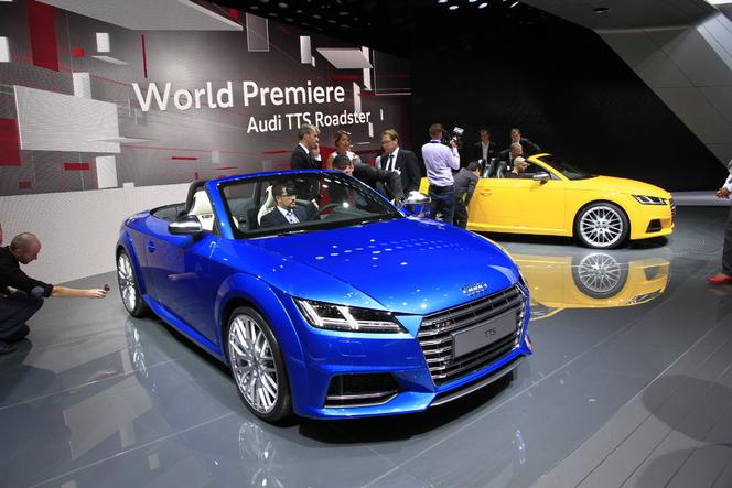 Audi TT Roadster, copie parfaite ? - Vidéo en direct du Mondial de Paris 2014