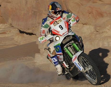 Dakar 2010 : 13me étape, la première pour le Norvégien Ullevalseter qui prend la seconde place à Lopez