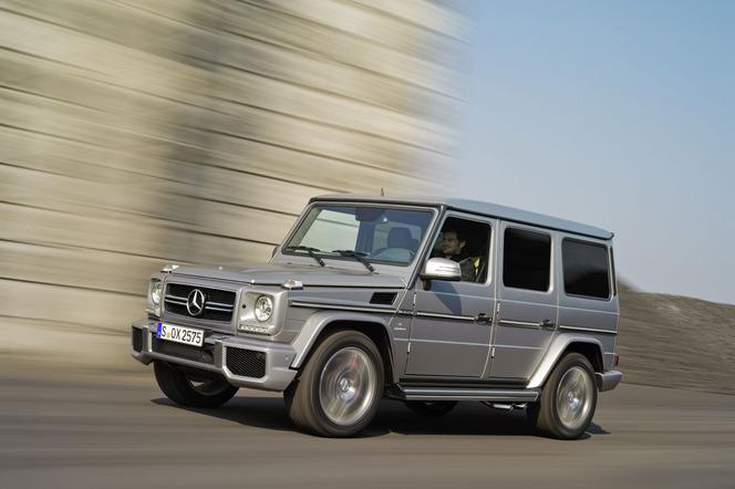 Pékin 2012 : Mercedes G63 et G65 AMG