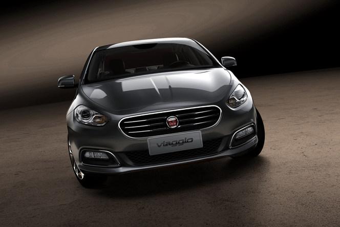 Pékin 2012 : la Fiat Viaggio en entier