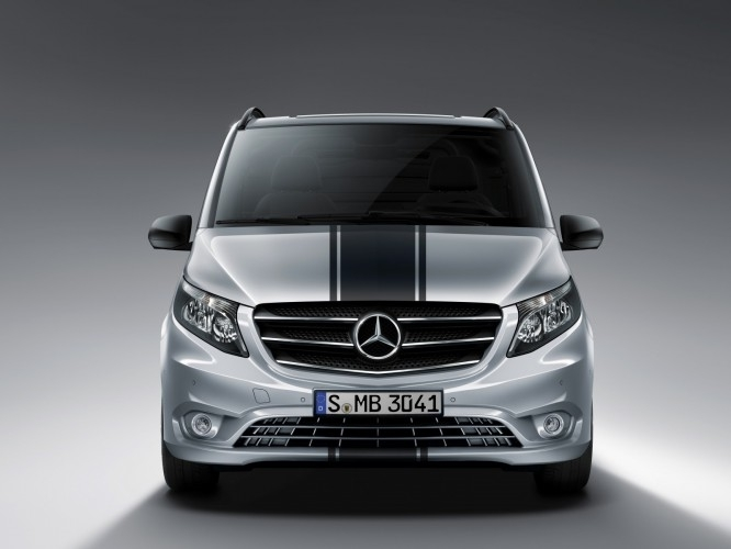 Mercedes Vito Sport Line : pour faire comme si