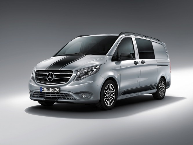 mercedes vito sport line pour faire comme si. Black Bedroom Furniture Sets. Home Design Ideas