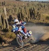 Dakar 2010 :  La course de David Frétigné depuis Iquique