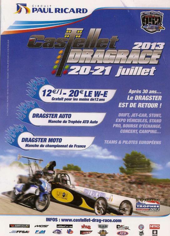 Le dragster s'invite bientôt au Castellet