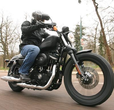 Essai Harley Davidson 883 Iron: L'Iron c'est du tout bon pour presque pas un rond
