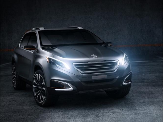 Pékin 2012 : Peugeot Urban Crossover concept, future 2008