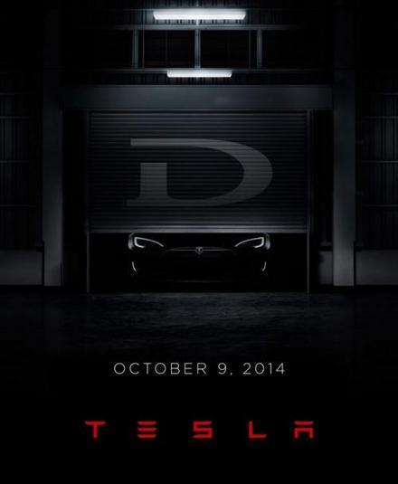 La Tesla D teasée et présentée le 9 octobre