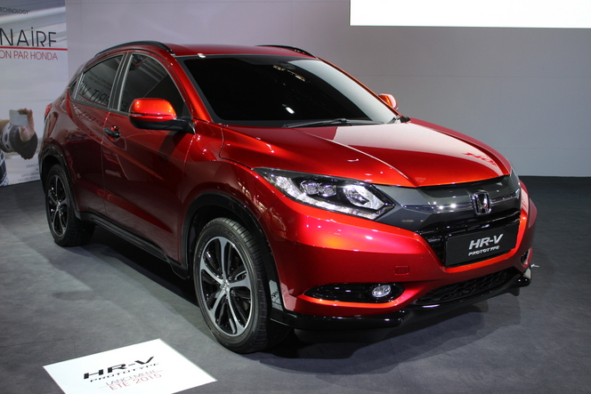 Honda HR-V concept : premier aperçu - En direct du salon de Paris 2014