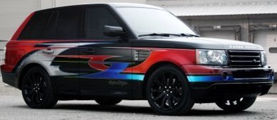 Range Rover Sport Supercharged by Troy Lee Designs