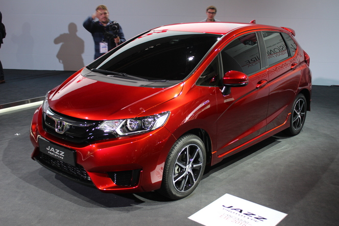 Honda Jazz Concept : suite de la lignée - En direct du salon de Paris 2014