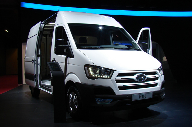 Hyundai H350: challenger - En direct du Salon de Paris 2014