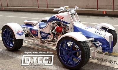 Un quad à moteur Harley Davidson homologué pour la France.
