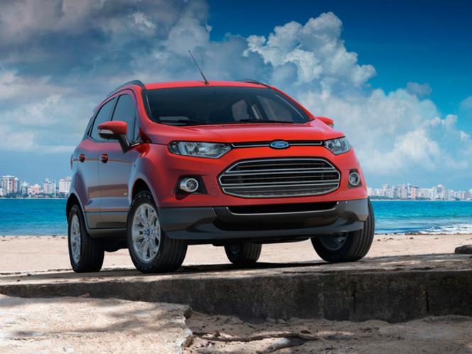 Pékin 2012 : Ford Ecosport de série