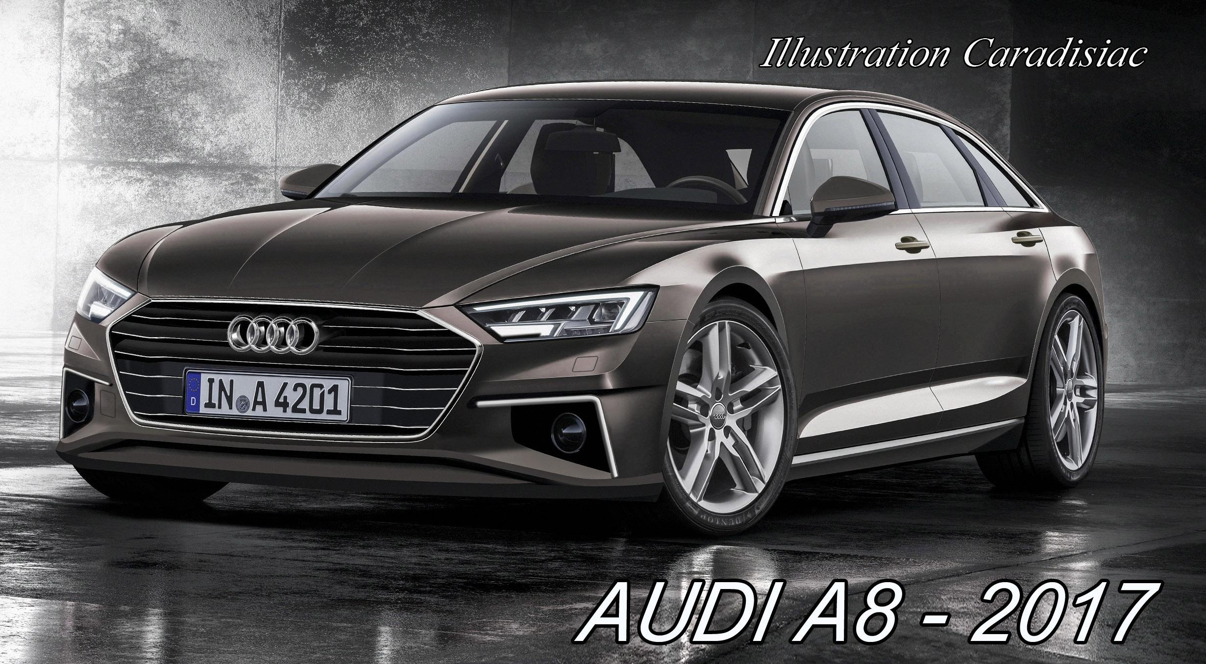 Une Nouvelle Audi A8 En 2017