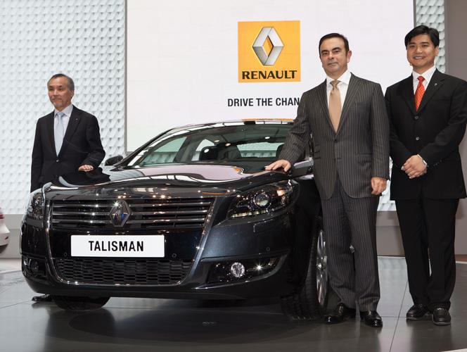 Pékin 2012 : Carlos Ghosn présente la Renault Talisman