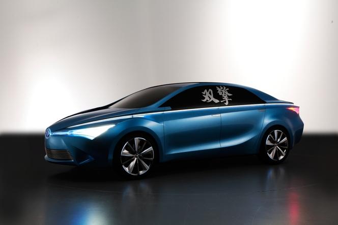 Pékin 2012 : 3 concepts Toyota dont une hybride réservée à la Chine