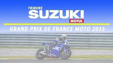 Moto GP – Grand Prix de France: Suzuki mobilise déjà ses fans!
