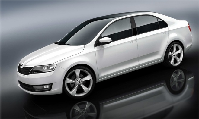 Pékin 2012 : Skoda officialise la Rapid