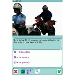 Code de la route 2008 sur Nintendo DS
