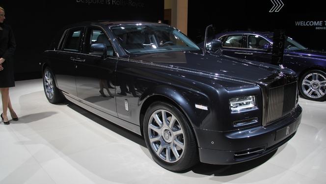 Rolls-Royce Phantom Metropolitan Collection : la Rolls des villes - En direct du Salon de Paris 2014