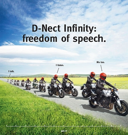Casque : Dainese, D-Nect infinity