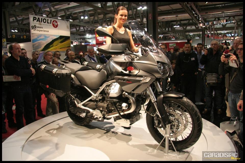 Salon de Milan 2010 en direct : Moto Guzzi NTX Stelvio 1200