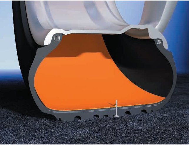 Des pneus auto-réparants Continental pour la VW Passat CC R-Line
