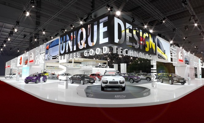 Visitez les stands Citroën et DS comme si vous y étiez - En direct du Salon de Paris 2014