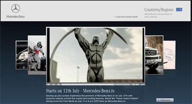 Mercedes TV: la chaîne de l'étoile