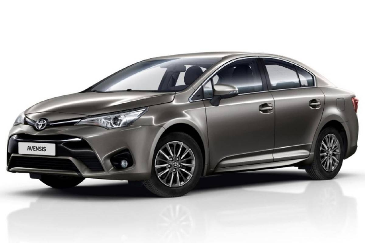 toyota modernise la berline avensis et la compacte auris. Black Bedroom Furniture Sets. Home Design Ideas