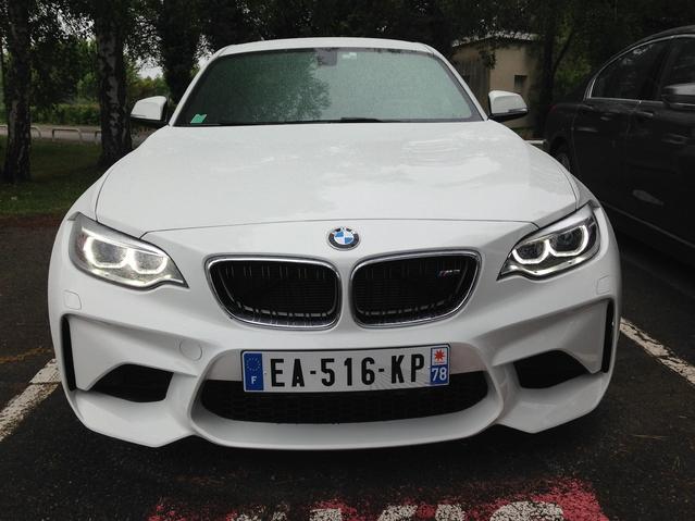 Première vidéo BMW M2 - Découvrez les premières images de l'essai en live