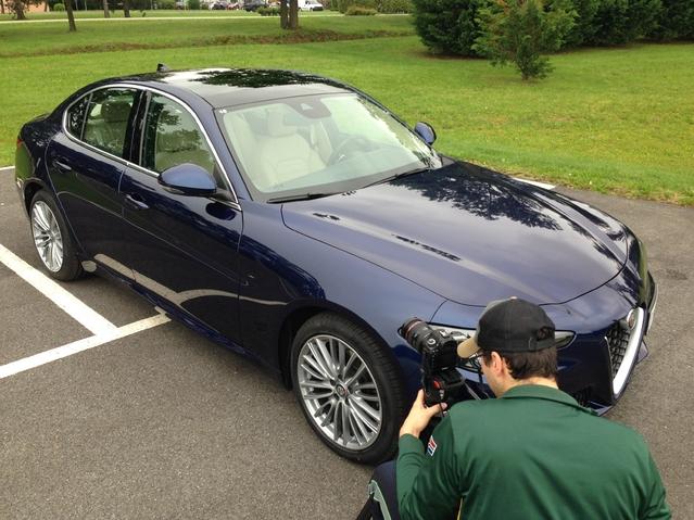 Première vidéo Alfa Romeo Giulia : découvrez les premières images de notre essai en live