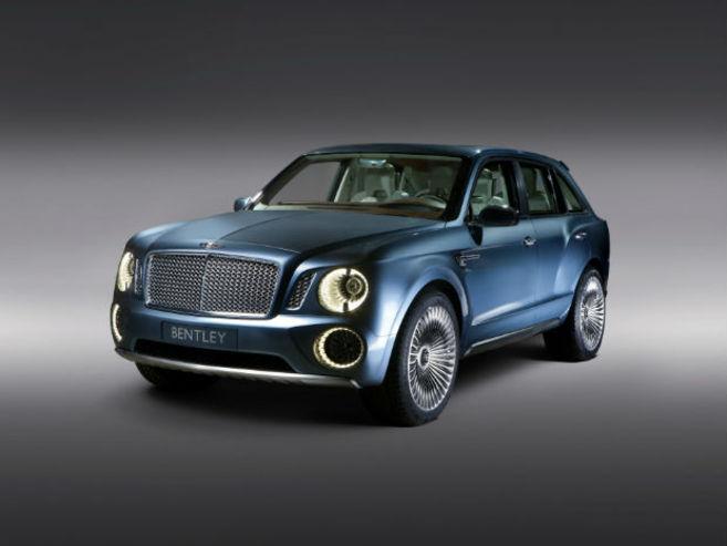 Pékin 2012 : Concept Bentley EXP 9 F deuxième tentative
