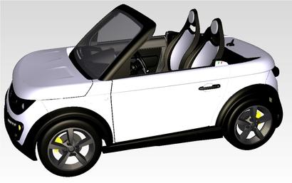 Tazzari Electric présente son Roadster