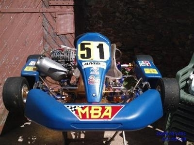 Plus fort encore le Kart Hayabusa (made in France)