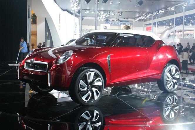 Pékin 2012 : le MG Icon se révèle